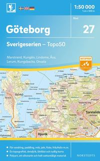 Radiodeltauno.it 27 Göteborg Sverigeserien Topo50 : Skala 1:50 000 Image