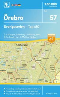 Tortedellemiebrame.it 57 Örebro Sverigeserien Topo50 : Skala 1:50 000 Image
