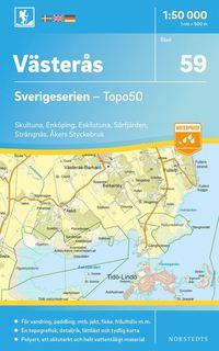 Tortedellemiebrame.it 59 Västerås Sverigeserien Topo50 : Skala 1:50 000 Image