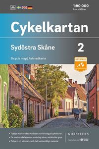 Tortedellemiebrame.it Cykelkartan Blad 2 Sydöstra Skåne : Skala 1:90 000 Image