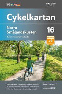 Rsfoodservice.se Cykelkartan Blad 16 Norra Smålandskusten : Skala 1:90 000 Image