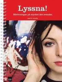 Radiodeltauno.it Lyssna! Hörövningar på mycket lätt svenska med cd Image
