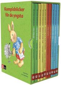 Kompisar Kompisböcker för de yngsta, 10 titlar (inbunden)