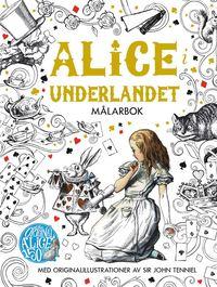 Alice i Underlandet Målarbok