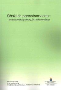 Skopia.it Särskilda persontransporter - moderniserad lagstiftning för ökad samordning. SOU 2018:58 : Betänkande från Utredningen om samordning av särskilda persontransporter (N 2016:03) Image