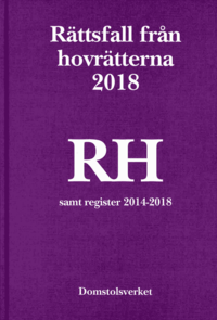 Radiodeltauno.it Rättsfall från hovrätterna. Årsbok 2018 (RH) : Image