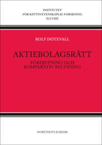 Rsfoodservice.se Aktiebolagsrätt : fördjupning och komparativ belysning Image