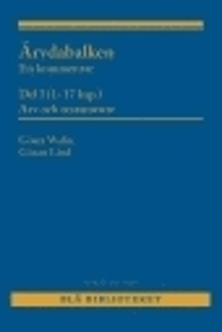 Skopia.it Ärvdabalken : En kommentar  Del I (1-17 kap.)  Arv och testamente Image