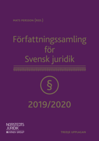 Tortedellemiebrame.it Författningssamling för Svensk juridik : 2019/2020 Image