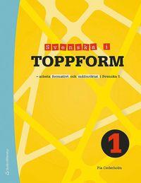 Skopia.it Svenska i toppform 1 Elevpaket - Digitalt + Tryckt - Arbeta formativt och målinriktat i Svenska 1 Image