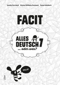 Alles Deutsch 7 Facit - Tyska för grundskolan