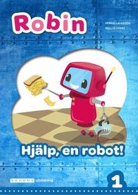 Skopia.it Robin åk 1 Läsebok blå Hjälp, en robot! Image