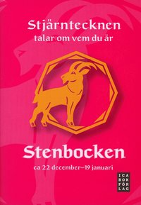 Presentbok stjärntecken Stenbocken