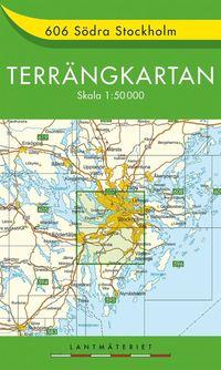 606 Södra Stockholm Terrängkartan : 1:50000