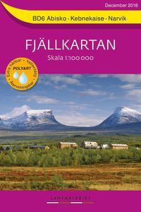 Rsfoodservice.se BD6 Abisko-Kebnekaise-Narvik Fjällkartan : Skala 1:100000 Image