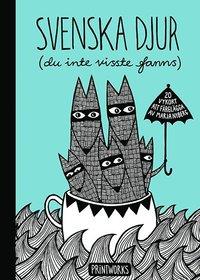 Radiodeltauno.it Svenska djur (du inte visste fanns) : 20 vykort att färglägga Image