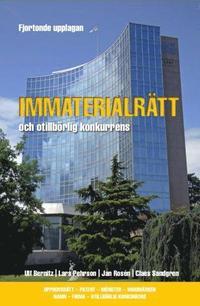 Immaterialrätt och otillbörlig konkurrens - upphovsrätt - patent - mönster - varumärken - namn - firma - otillbörlig konkurrens