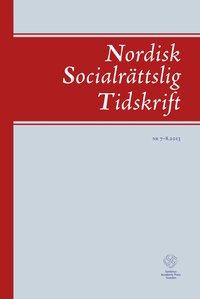 Skopia.it Nordisk socialrättslig tidskrift 7-8(2013) Image