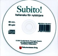 Subito! cd audio (cd-bok)