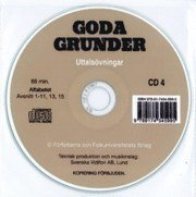 Goda Grunder cd audio uttal