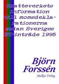 Rsfoodservice.se Skatteverkets information till momsdeklarationerna sedan Sveriges EU-inträde 1995 Image