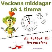 Skopia.it Veckans middagar på 1 timma : en kokbok för livspusslare Image