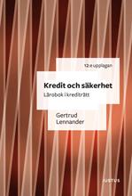 Radiodeltauno.it Kredit och säkerhet : lärobok i krediträtt Image