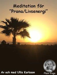 Meditation Prana-Livsenergi