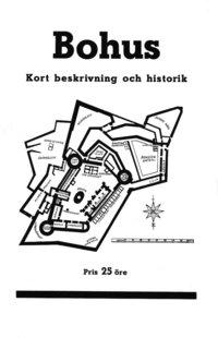 Radiodeltauno.it Minibok: Skildring av Bohus fästning år 1934 ? Återutgivning av turistbroschyr Image