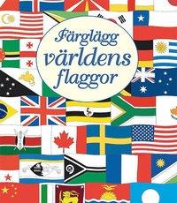 Färglägg världens flaggor