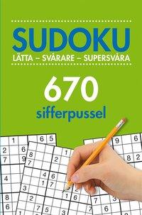 Radiodeltauno.it Sudoku : lätta - svårare - supersvåra - 670 sifferpussel. Vol. 2 Image