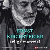Ärliga material : Mina tankar om järn, trä, sten, glas och ull (ljudbok)