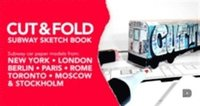 Rsfoodservice.se Cut & fold subway sketchbook : subway car paper models from New York, London, Berlin, Paris, Rome, Toronto, Moscow, Stockholm Image