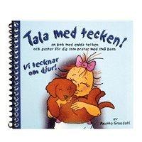 Skopia.it Vi tecknar om djur! : en bok med enkla tecken och gester för dig som pratar med små barn Image
