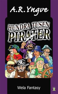HUNDRA TUSEN PIRATER - Swedish childrens book