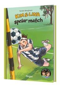 Kim & Lina spelar match (bok + cd)