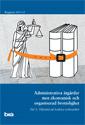 Administrativa åtgärder mot ekonomisk och organiserad brottslighet. Del 1. Tillstånd att bedriva verksamhet
