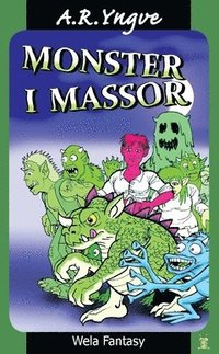 MONSTER I MASSOR - Swedish childrens book