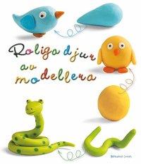 Roliga djur av modellera