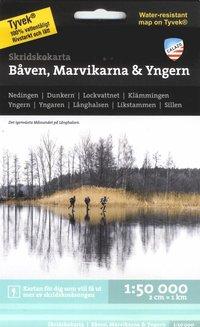 Tortedellemiebrame.it Skridskokarta Båven, Marvikarna & Yngern 1:50.000 Image