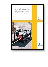 Skopia.it SEK Handbok 447 - Generatoraggregat - Tekniska anvisningar för anslutning och drift av generatoraggregat Image