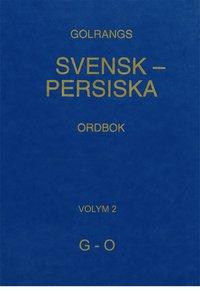 Rsfoodservice.se Golrangs svensk persiska ordbok, volym 2, G - O Image