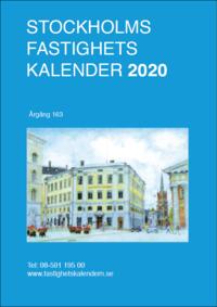 Skopia.it Stockholms Fastighetskalender 2020, Årg 163 Image