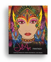 JuliArt fantasy coloring artbook for adults (häftad)