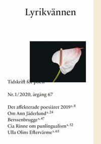 Radiodeltauno.it Lyrikvännen 1(2020) Image