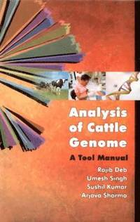 Analysis of Cattle Genome:  a Tool Manual (inbunden)