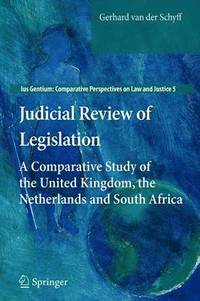 Judicial Review of Legislation (häftad)