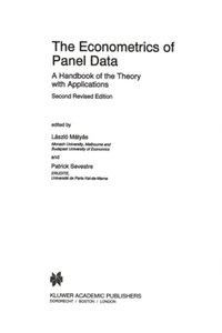 Econometrics of Panel Data (e-bok)