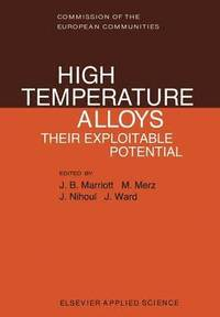 High Temperature Alloys (häftad)