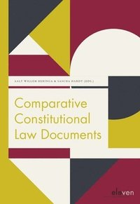 Comparative Constitutional Law Documents (häftad)